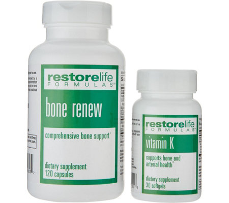 RestoreLife Formulas Bone Renew Vitamin K 30-day Supply