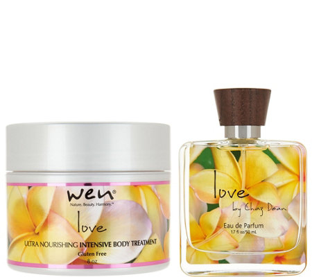 WEN by Chaz Dean Signature Love Body Treatment & 1.7 oz - EDP