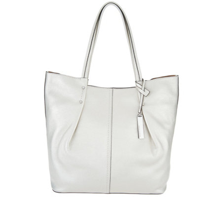 """As Is"" Vince Camuto Leather Tote Bag- Juni"