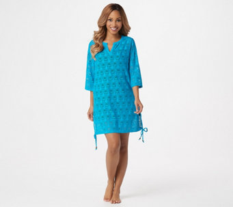 dfe5104753301 Beach Side Tide Knit Lace Cover-Up - A351553