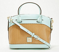 e5927ed1a69a Dooney   Bourke Woven Embossed Leather Satchel - Beacon - A351753