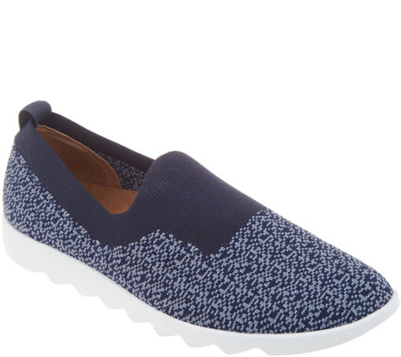 Comfortiva Knit Slip-On Sneakers - Ginger