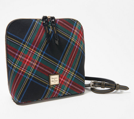 Dooney & Bourke Blakely Tartan Large Trixie Crossbody