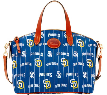 Dooney & Bourke MLB Nylon Padres Small Satchel