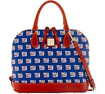 Dooney & Bourke NFL Giants Zip Zip Satchel - A285754