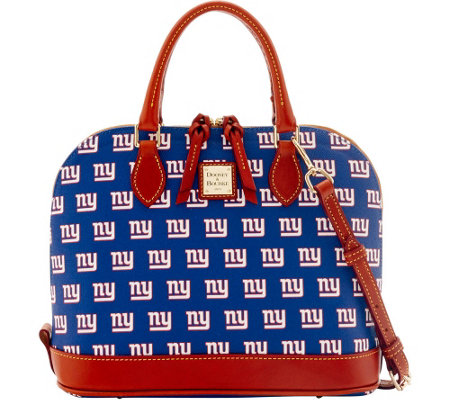 Dooney & Bourke NFL Giants Zip Zip Satchel