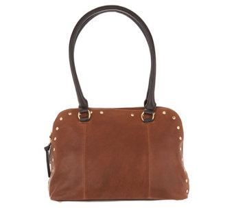 eb1dea7c3d1a Tignanello Vintage Leather Mojave Dome Shopper Handbag - A296554