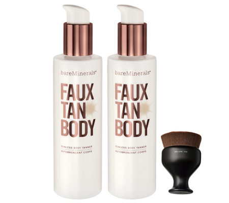 bareMinerals Supersize Faux Tan Collection w/ Brush