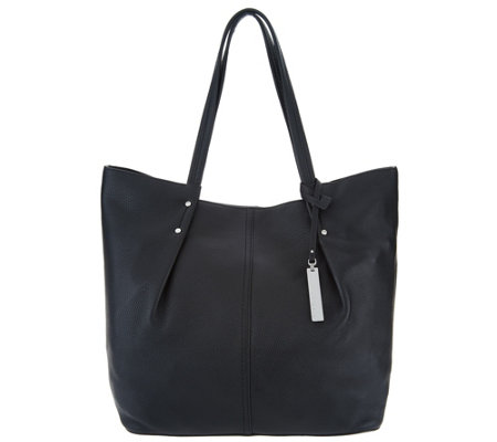 b10207f24d Vince Camuto Leather Tote Bag - Juni - Page 1 — QVC.com
