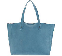 American Leather Co. Glove Leather Open Tote - Davis - A310254