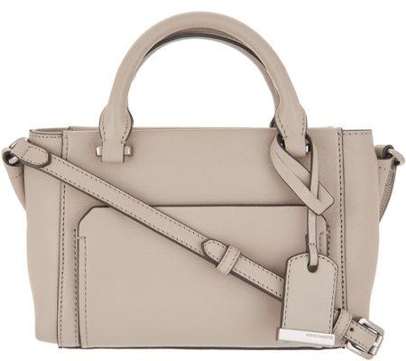 6c423f30a Vince Camuto Leather Crossbody Bag - Lina - Page 1 — QVC.com