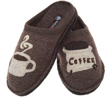 Haflinger Wool Novelty Slippers