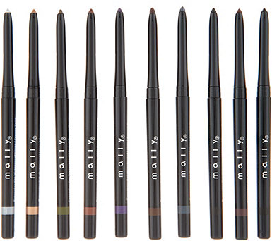 Mally Evercolor Gel Waterproof Eyeliner 10-Pc Library - A346754