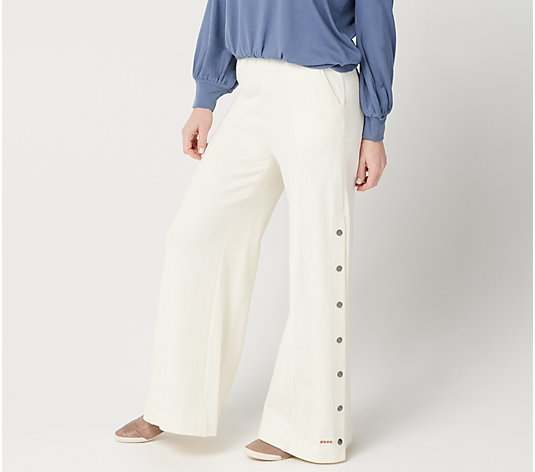 Peace Love World Regular French Terry High-Waist Monica Pant