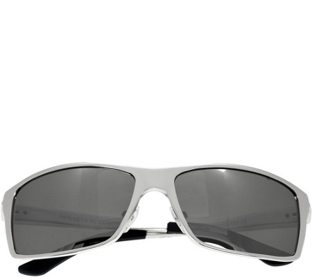 Breed Kaskade Polarized Sunglasses - Silver