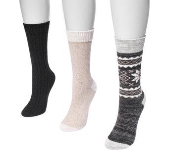0c4e81931d5 Muk Luks — Socks — Socks   Hosiery — Fashion — QVC.com