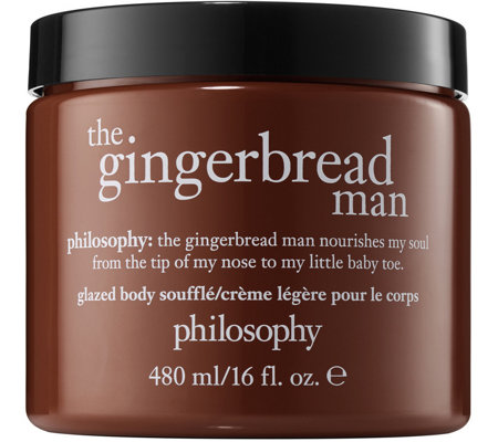 philosophy super-size holiday glazed body souffle, 16 oz