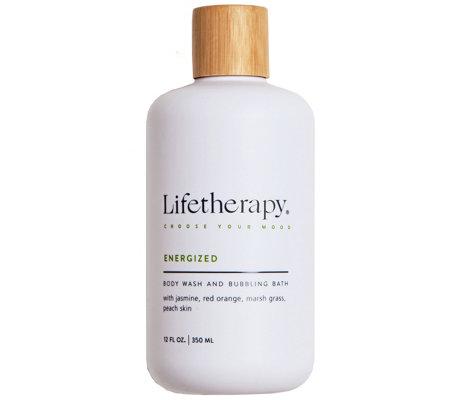Lifetherapy Moisturizing Body Wash Bubbling Bath 12 Fl Oz