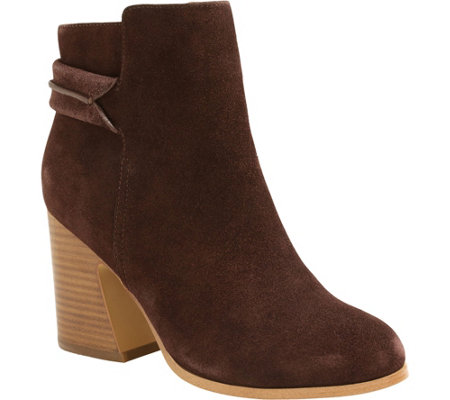 Kensie Leather Ankle Booties Surrey