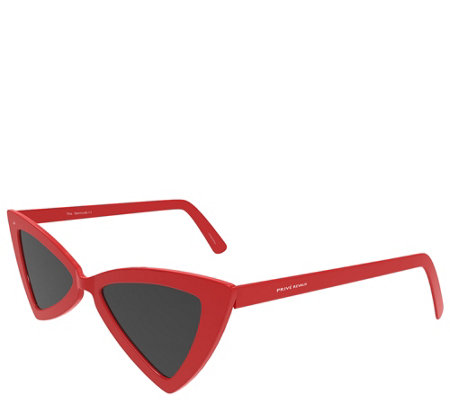 Prive Revaux The Bermuda Polarized Sunglasses Red