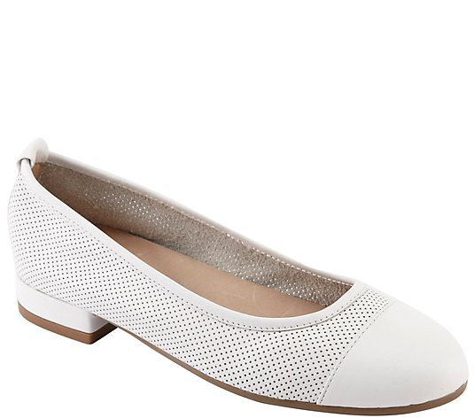 David Tate Breathable Low Heel Flats - Melida