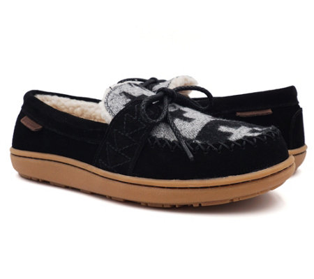 Pendleton Women's Spider Rock Suede Slippers -Lakehouse Moc