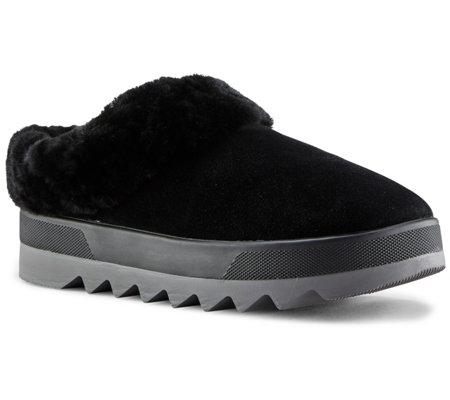 Cougar Women's Suede Slip-On Mules - Pronya