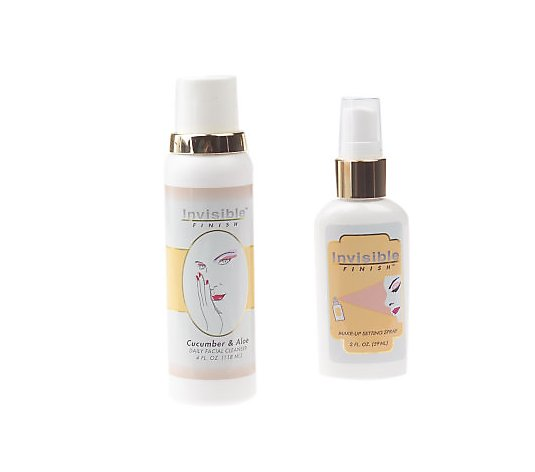 Invisible Finish Makeup Setting Spray and Daily Cleanser