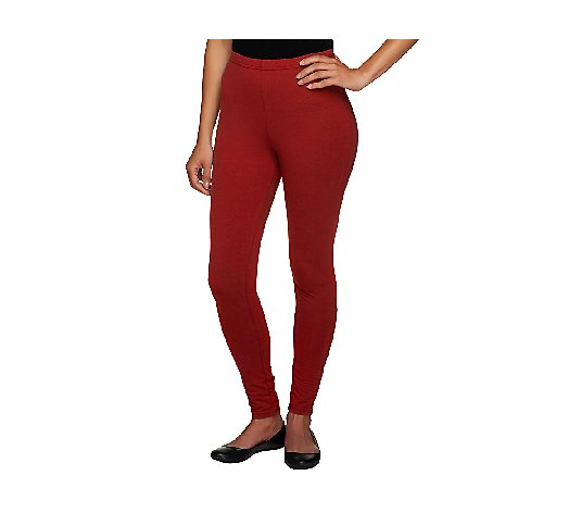 Women with Control Tall Fit Pull-On Knit Leggings