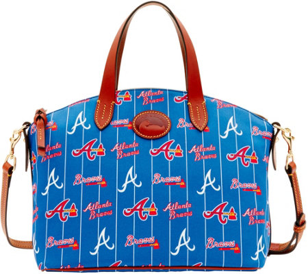 Dooney & Bourke MLB Nylon Braves Small Satchel