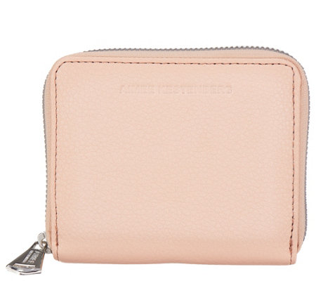 Aimee Kestenberg Leather Zip Around Wallet -Brixton