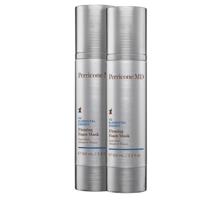 Perricone MD H2 Elemental Energy Firming Foam Mask Duo