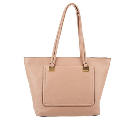 Vince Camuto Leather Small Tote Bag - Reta