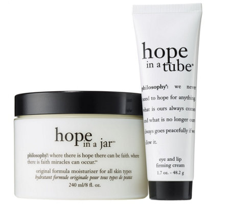 philosophy mega size hope in a jar moisturizer & eye cream duo