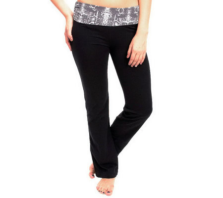 90 Degree by Reflex Pull On Boot Cut Active Pants