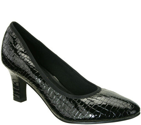 David Tate Patent Leather Pumps - Peggy