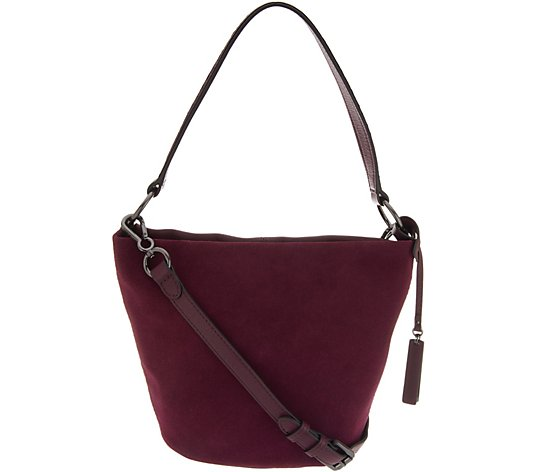 Vince Camuto Leather Bucket Bag - Suza
