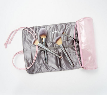 IT Cosmetics IT's Your Must-Have Brush Set w/ Brush Roll