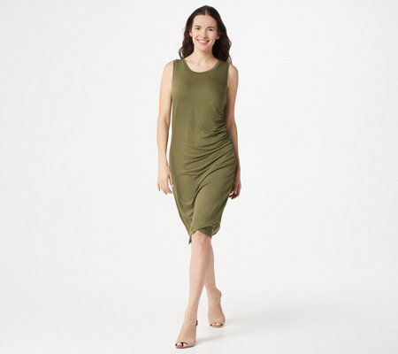 Belle By Kim Gravel Loveabelle Lounge Ruched Dress