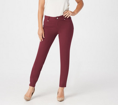 Women with Control Petite Knit Fly Front Jeggings