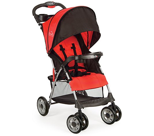 Kolcraft Cloud Plus Fire Red Lightweight Stroller