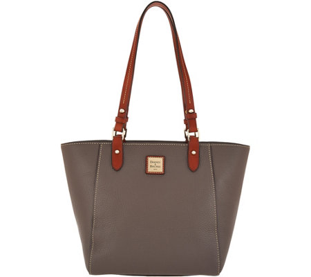 Dooney & Bourke Pebble Leather Tote Handbag -Janie