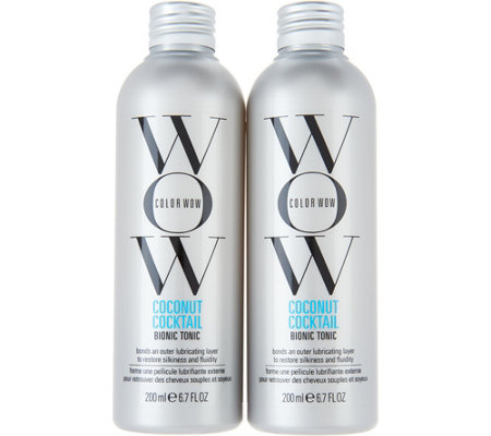 Color WOW Coconut Cocktail Bionic Tonic Treatment Duo