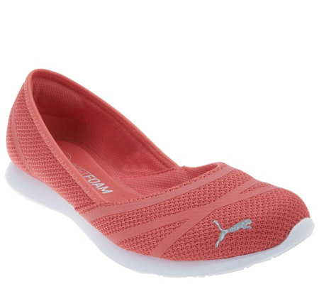 PUMA Mesh Slip-On Shoes - Vega Ballet