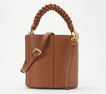 Vince Camuto Leather Drum Bag - Zane - A352356 bb3c4fabf695b