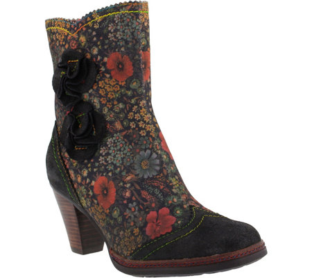 L'Artiste by Spring Step Leather Boots - Simonette