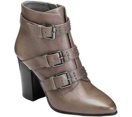 Aerosoles Studded Ankle Booties - Square Away
