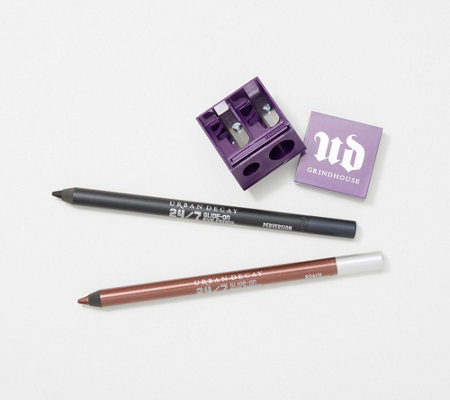 URBAN DECAY 24/7 Eyeliner Pencil Duo with Pencil Sharpener