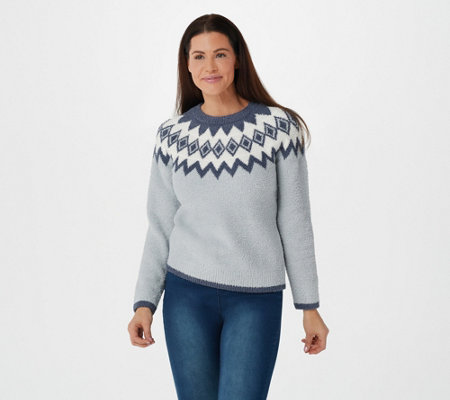 Barefoot Dreams Cozychic Women's Nordic Pullover