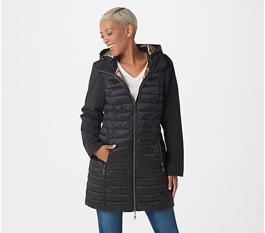 Nuage Quilted Jacket with Removable Hood